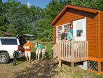 View larger image of Cabin  at BEAR CREEK CAMPGROUND AT LAKE COMPOUNCE image #6