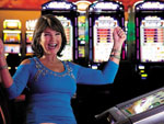 View larger image of Lady at Casino at BRIGHTON RV RESORT image #2