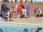 View larger image of People enjoying the swimming pool at BLUE SKY RV RESORT image #8