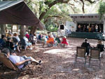 View larger image of Band playing outdoors at DISCOVER CRYSTAL RIVER image #7