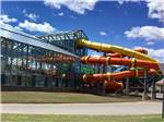 View larger image of Exterior of the indoor water park at WATER-ZOO CAMPGROUND image #6
