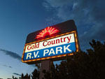 View larger image of Sign at entrance to the park at GOLD COUNTRY RV PARK image #4