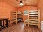 View larger image of Inside cabin at PIGEON RIVER CAMPGROUND image #7