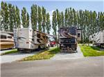 View larger image of Large gravel sites with RVs at LA CONNER MARINA RV RESORT AT PORT OF SKAGIT image #6