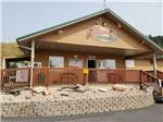 View larger image of Patio area with outdoor seating at STURGIS RV PARK image #3