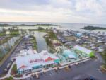 View larger image of Green table and chairs on the cabin deck at THE RESORT AT MASSEYS LANDING image #4