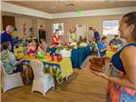 View larger image of Guests in party room at PALA CASINO RV RESORT image #4