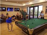 View larger image of Pool table at PALA CASINO RV RESORT image #5