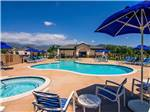 View larger image of Pool and hot tub at PALA CASINO RV RESORT image #10