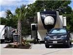 View larger image of Trailers camping at campsite at ALL ABOUT RELAXING RV PARK image #2