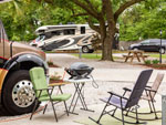 View larger image of RVs parked at campground at ALL ABOUT RELAXING RV PARK image #12