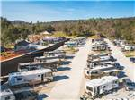 View larger image of Aerial view of sites at THE RV PARK AT BLACK OAK CASINO RESORT image #2