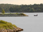 View larger image of Man in boat on the lake at CLAY COUNTY MISSOURI image #5