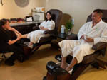 View larger image of Couple at the spa at 12 TRIBES RESORT CASINO RV PARK image #5
