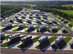 View larger image of Aerial view of RV Park at WANDERLUST CROSSINGS RV PARK image #1