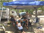View larger image of Family camping in trailer at SHILOH ON THE LAKE image #6