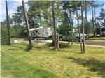 View larger image of Truck and 5th wheel at MANISTIQUE LAKESHORE CAMPGROUND image #8