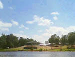 View larger image of Trailer camping at campsite at TOLEDO BEND RV RESORT AND CABINS image #8