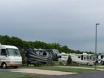 View larger image of RVs and trailers at campgrounds at THE BLUFFS ON MANISTEE LAKE image #2