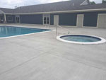 View larger image of Pool and hot tub at THE BLUFFS ON MANISTEE LAKE image #4