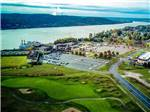 View larger image of An aerial view at RISING STAR CASINO RESORT  RV PARK image #6