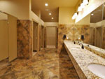 View larger image of Bathrooms and showers at LEISURE LANE RV RESORT image #2
