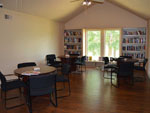 View larger image of Library in lodge at LEISURE LANE RV RESORT image #6