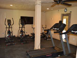 View larger image of Exercise room at LEISURE LANE RV RESORT image #7
