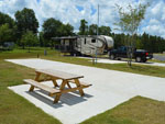 View larger image of Trailers camping at campsite at LEISURE LANE RV RESORT image #8