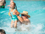 View larger image of People swimming in pool at SPLASHWAY WATERPARK  CAMPGROUND image #5