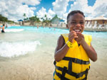 View larger image of Kids swimming at SPLASHWAY WATERPARK  CAMPGROUND image #8