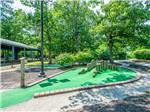 View larger image of Miniature golf course at LAKE  SHORE RV image #4