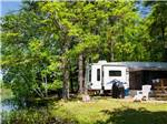 View larger image of Trailer camping on the lake at TUXBURY POND RV RESORT image #8