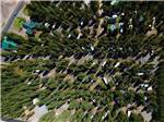 View larger image of Another aerial view of the campsites at YELLOWSTONE RV PARK AT MACKS INN image #9