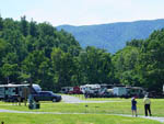 View larger image of Trailers camping at campsite at DEVILS BACKBONE CAMP image #2
