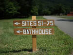View larger image of Sign leading into campground at DEVILS BACKBONE CAMP image #6