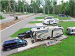 View larger image of RVs and trailers at campground at BELLE RIDGE CAMPGROUND image #1
