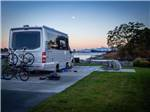 View larger image of Covered barbeque deck with harbor view at SALISH SEASIDE RV HAVEN image #4