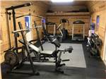 View larger image of Excercise room with gym equipment at DO DROP INN RV RESORT image #6