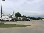 View larger image of 5th wheels parked at CRYSTAL LAKE RV RESORT image #1