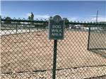 View larger image of Fenced dog walk area at ASPEN GROVE RV PARK image #8
