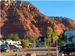 View larger image of RVs parked in backed in sites at GRAND PLATEAU RV RESORT AT KANAB image #7