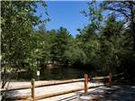 View larger image of Picnic tables at campsite at HOLLY ACRES CAMPGROUND image #5