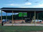 View larger image of Pavilion with large screen TV at CLEMSON RV PARK AT THE GROVE image #7