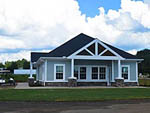 View larger image of Exterior view of the park office at CLEMSON RV PARK AT THE GROVE image #8