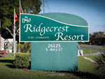 View larger image of The front entrance sign at RIDGECREST RV RESORT image #2