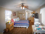 View larger image of Inside of one of the mobile homes at RIDGECREST RV RESORT image #5