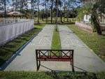 View larger image of The shuffleboard courts at RIDGECREST RV RESORT image #8