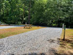 View larger image of Vacant gravel site with picnic table at JENNYS CREEK FAMILY CAMPGROUND image #3