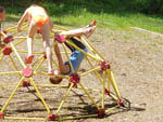 View larger image of Kids playing in the playground at JENNYS CREEK FAMILY CAMPGROUND image #8